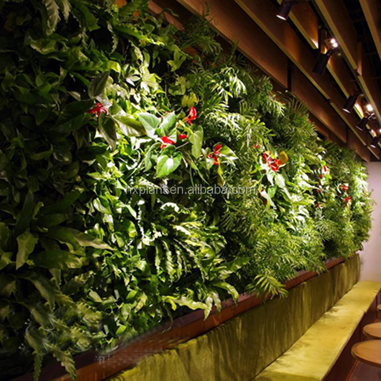 china manufacturers vertical garden wall hanging artificial plants fake grass green carpet moss turf decoration