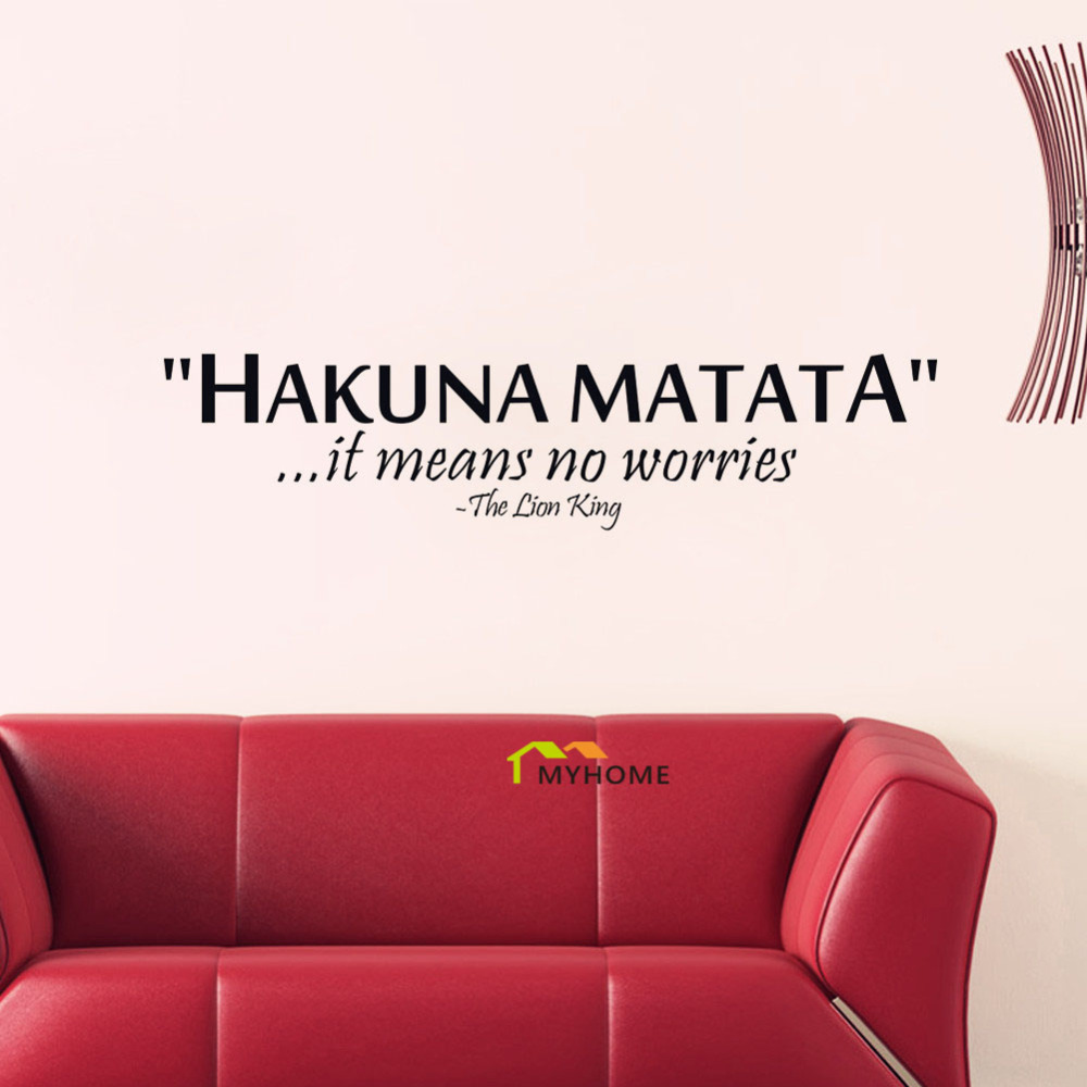 The Lion King Quotes HAKUNA MATATA It Means No Worries ...