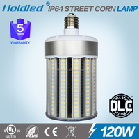 HOT 120W dlc led corn light no fan 5 year warranty