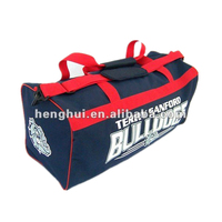 Custom sublimation Polyester Outdoor Duffel sports bag