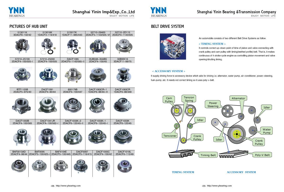 42410-52070 4241052070 Wheel Hub Bearing Unit For Auto Part