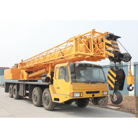 large sized used cranes 50ton crane for sale used QC50K truck crane