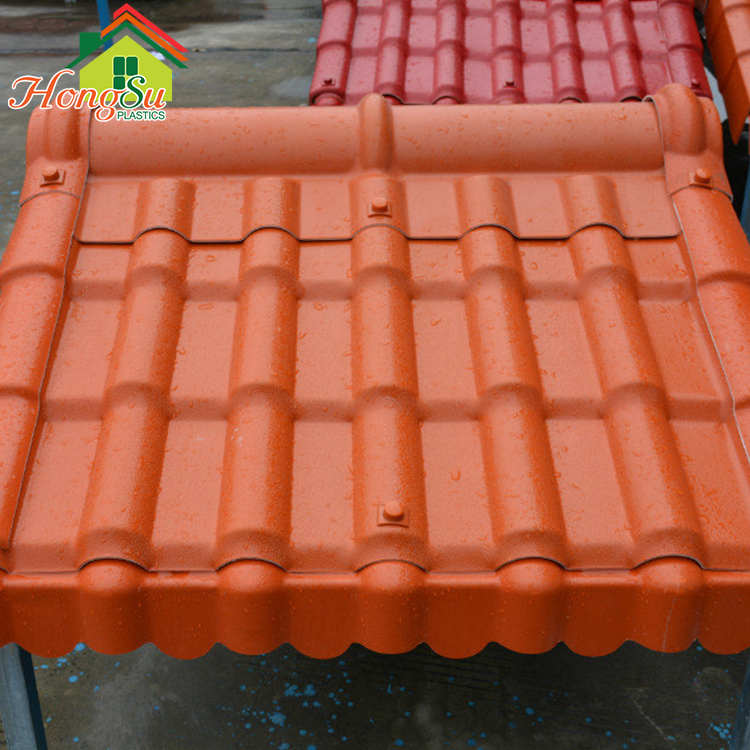 Exceptional waterproof performance corrugated plastic asa synthetic resin roofing sheets