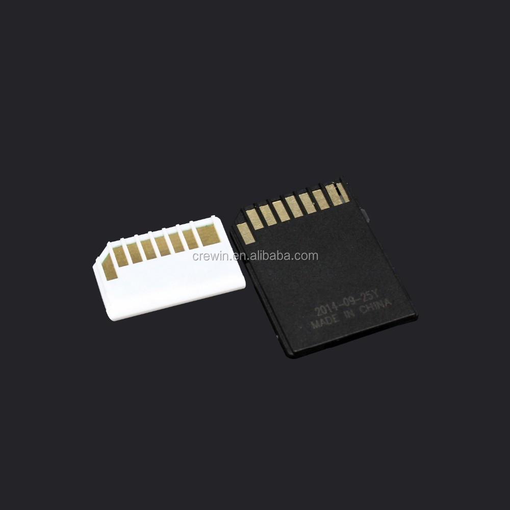 Mini Driver Microsd/tf To Sd Adapter Convert For Macbook Air Card ...