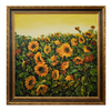 Modern Home Decorative Wall Artwork Handmade Sunflower Canvas Harvest Oil Painting