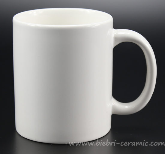 Retail Whole Plain White Color Porcelain Coffee And Tea Mugs Cups