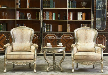 luxury chairs for living room glamorous luxury and royal living room sofa chair solid wood tea table single chairs set