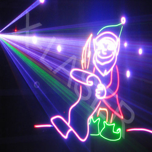 Laser pour decoration de noel for Laser projecteur noel