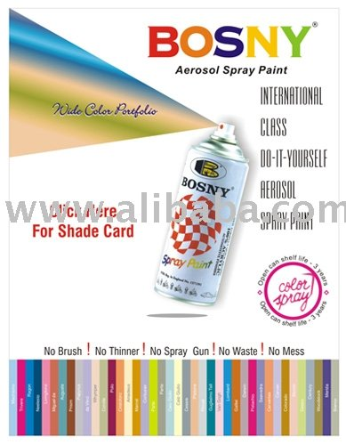 Bosny Spray Paint Color Chart Philippines