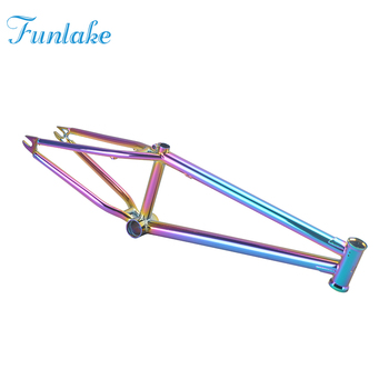 2019 wholesale hot selling accept colors wholesale 20'' mini freestyle dirt jump bicycle parts chromoly#4130 custom bike frame