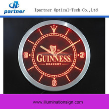 2015 New Type Custom Led Digital Clock With Logo
