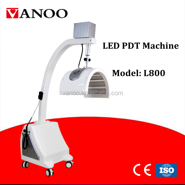 LED therapy beauty machine L800 with red ,blue ,yellow and infrared light for option