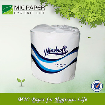 Individual Paper Wrapper Toilet Tissue Roll