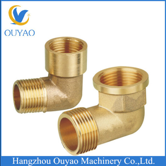 brass fitting high quality 3/8 male female 90 degree brass elbow made in Zhejiang with competitive price
