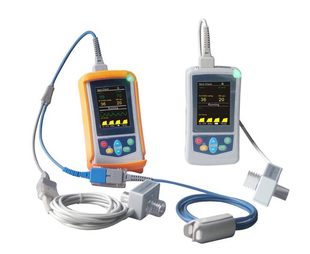 UT100C Handheld ETCO2 Capnography Monitor for Pediatric Emergency Department