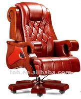 Big Office Chair, Button Tufted Office Chair, Chesterfield Executive Chair ( FOHA-05# )