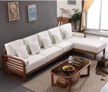 2017 New Style Unique Design Solid Wood 3 Seater Wooden