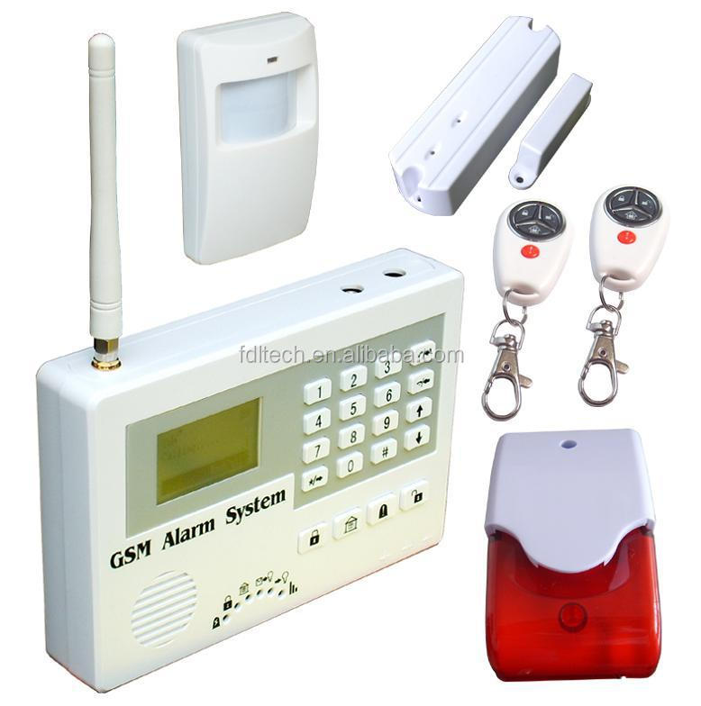 Fdl-s110 Gsm Wireless Home Security Alarm System Gsm Mobile Jammer ...