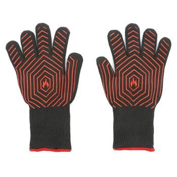 ZMSAFETY   EN407 Certified Extreme Heat Resistant Fireplace Accessories and Welding Gloves For Baking