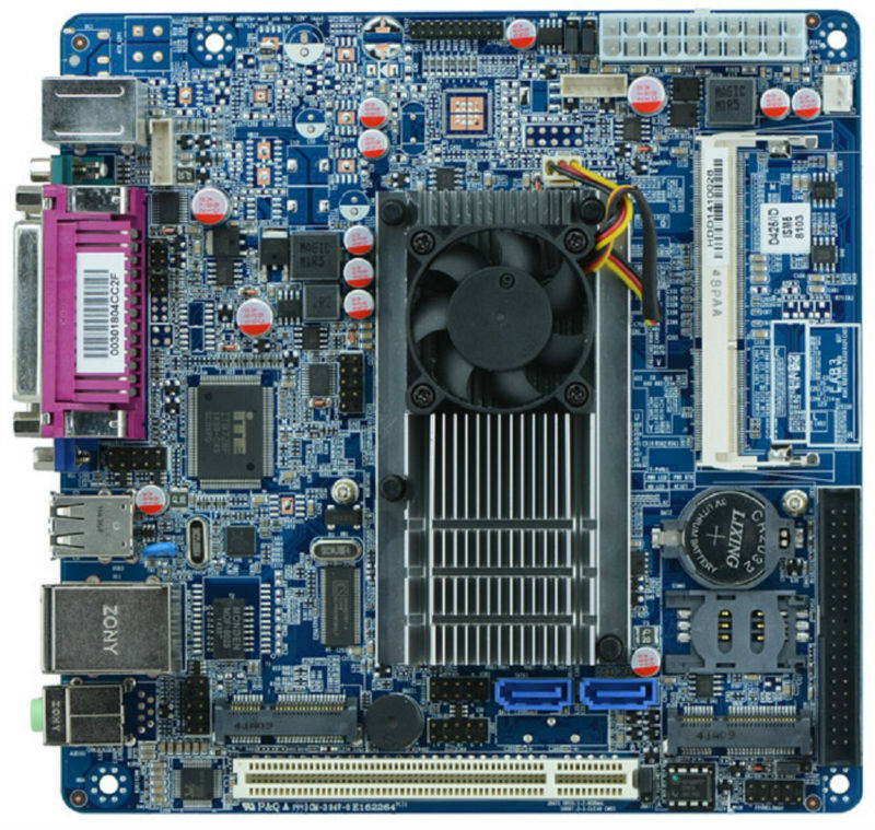 M58-A42 Mini ITX embedded Motherboards with onboard Atom D425 CPU for POS terminal