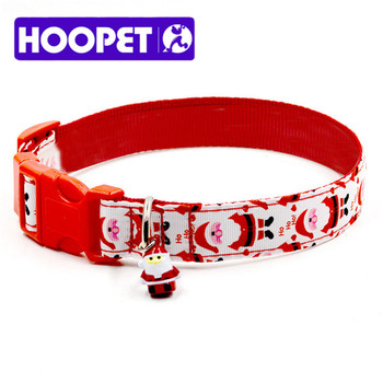 Pet Christmas New Dog Collar Wholesale With Small Bell - Buy Dog ...