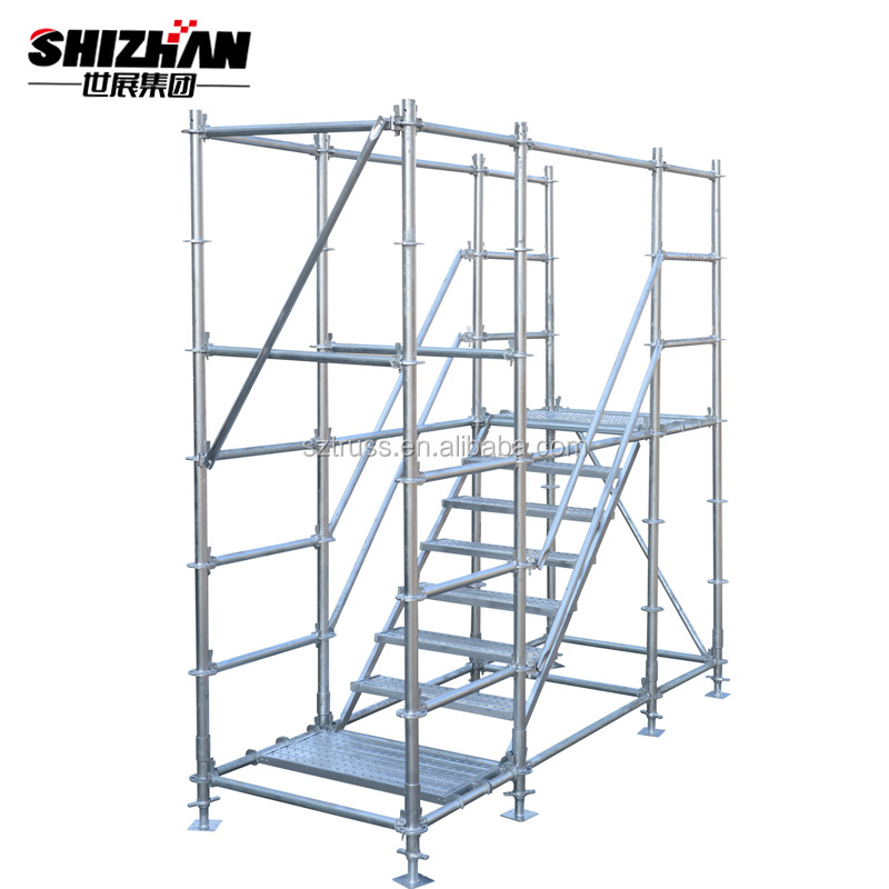 Cheap price used layer allround scaffolding/aluminum ringlock scaffolding for sale