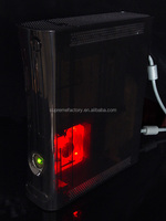 For Xbox 360 Red Xcm Internal Core Cpu Gpu Cooler Led Light Cool ...