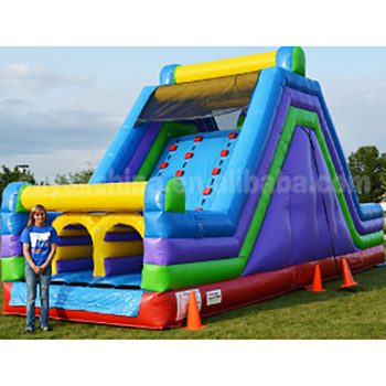 Guangzhou Sayok PVC commercial inflatable jumping castle slide