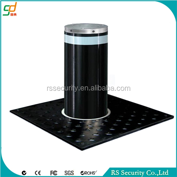 Electric Stainless Steel Automatic access control system concrete bollard