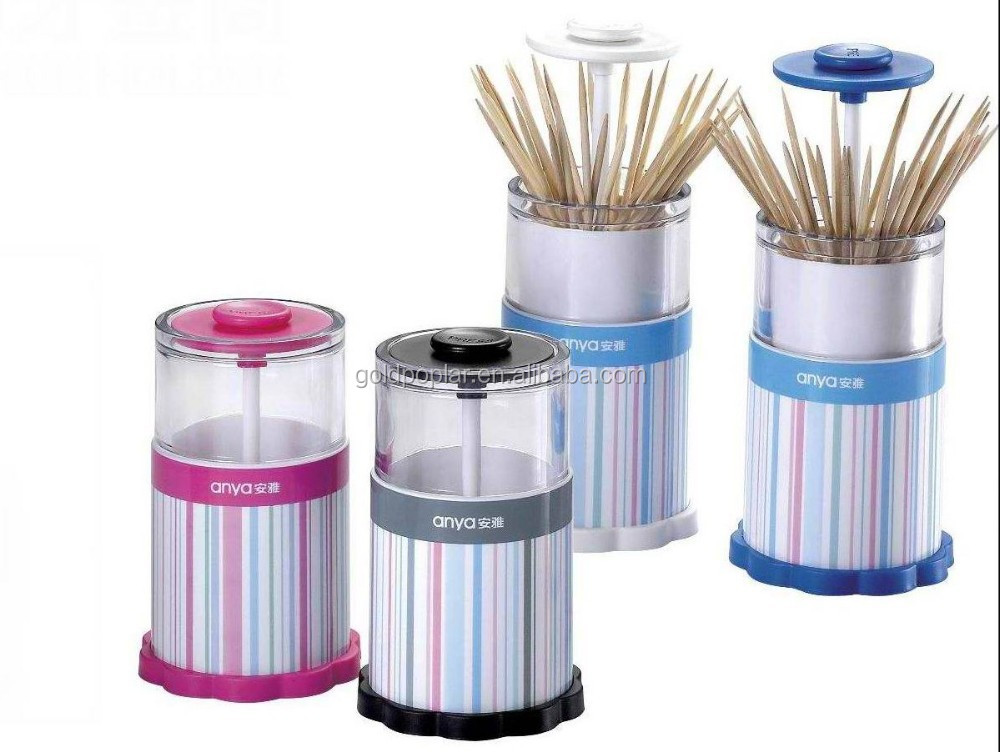 plastic Automatic toothpick dispensers