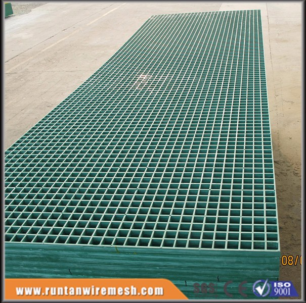 chemical industry frp grp molded fiberglass grating for roof or walkway