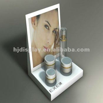 Simple Acrylic Display Perfume Display Stand Cosmetic Display ...