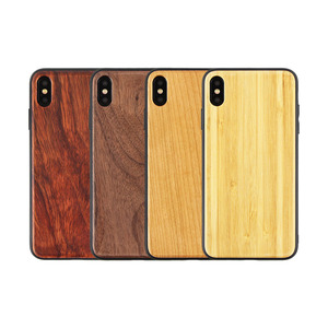 Custom Blank Bamboo Rosewood Wood Phone Case For iPhone Mobile Phone Accessories Case