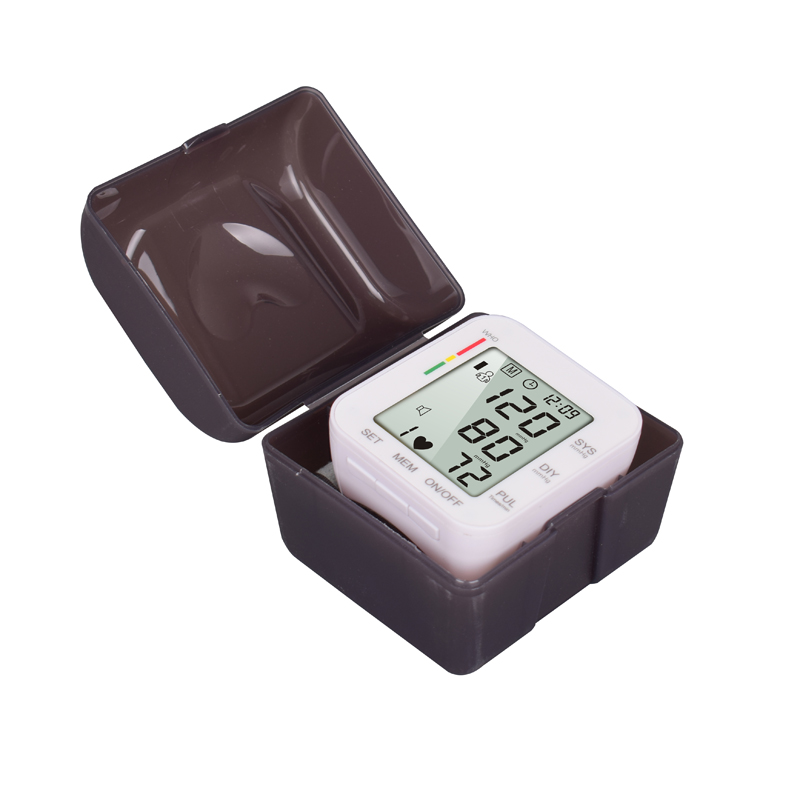 blood pressure monitor instrument for measuring blood pressure with test kits