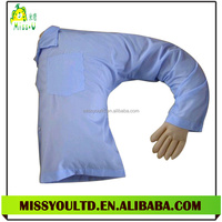 Different Shapes Stuffed Plush Boyfriend Pillow With Cloth Manufacture