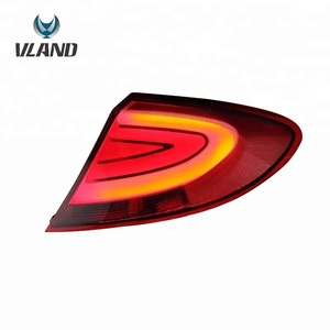 LED Modified Tail Lights For Proton 2009-2016 Gen-2 RCR Rear Lamps