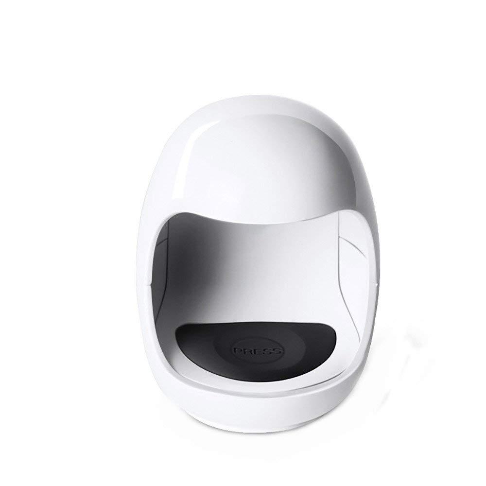 Mini USB LED Nail Dryer,Hattfart Professional LED Nail Curing Lamp for UV LED Gel Nail Polish Nail Tool (White)