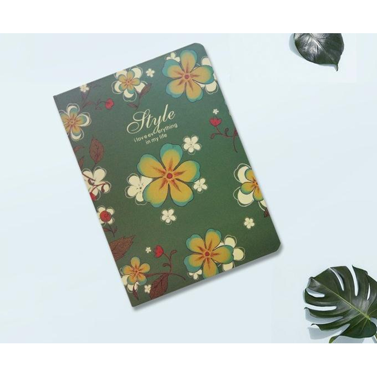 A5 di modo semplice mini notebook di carta personalizzato notebook copertina rigida con fascia elastica