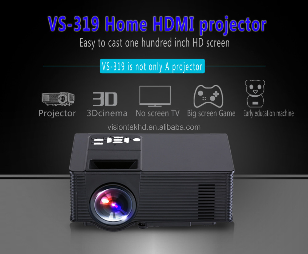 WIFI Projector WIFI Projector VS-319 with Android System Portable Video Beamer Projektor Projektor