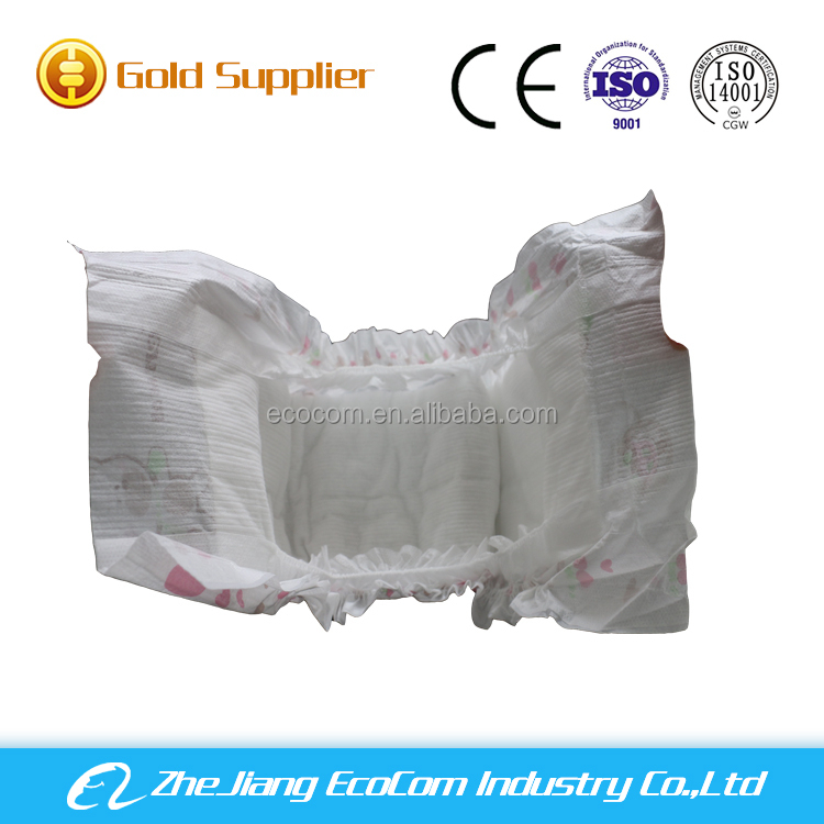 2016 zhejiang china eco friendly products disposable nappies/baby nappies