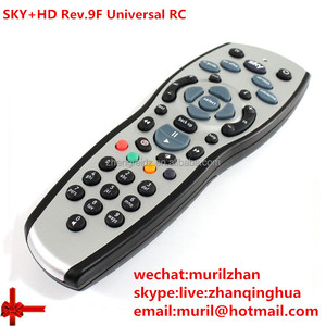 Silvery SKY+HD Rev.9F Universal remote control akb72914283 Remote for 3D LG TV