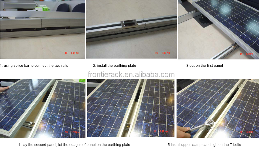 Solar Panel Grounding Clip For Solar Mounting System Buy