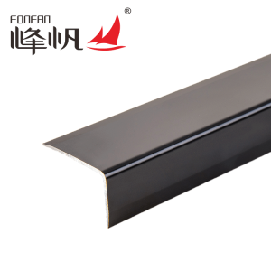 Right angle sheet metal edge trim cheap floor tile