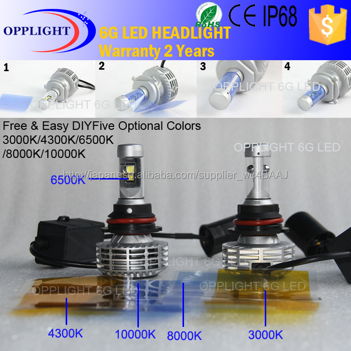 H4 Led Headlight 5000k 8000k 6g Headlight Hummer H3 Accesorios Diy ...