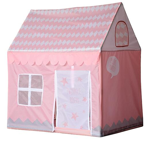 Pink Girls Indoor Outdoor Play Tents Palace Tents Kids Ice Cream and Bakery Shop Playhouse