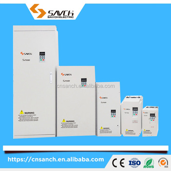 Sanch S2800 90kw sensorless vector control 3 phase 380v ac frequency converter 60hz 50hz