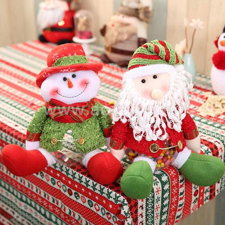 Weihnachten Urlaub Geschenk Dekoration Weihnachtsmann Stoffpuppe ...