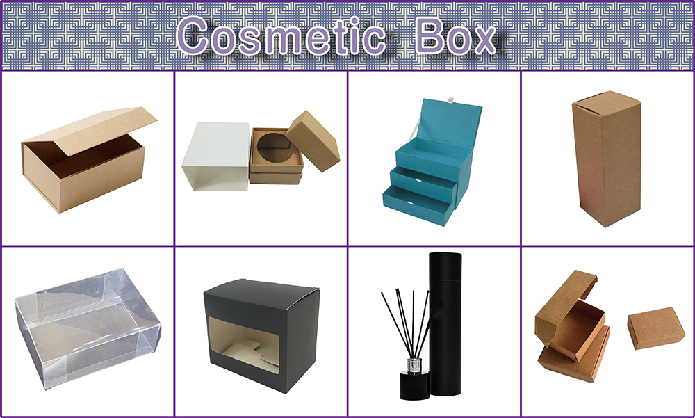 custom printed cosmetics paper packaging box with EVA insert for nail polish