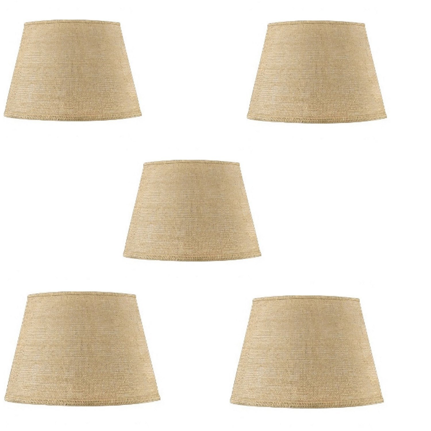 Cheap burlap chandelier shades find burlap chandelier shades deals get quotations upgradelights set of five 6 inch european drum style chandelier lamp shades in natural burlap fabric aloadofball Image collections
