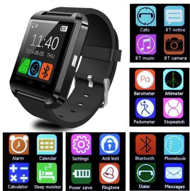 New NO.1 model BT smartwatch u8